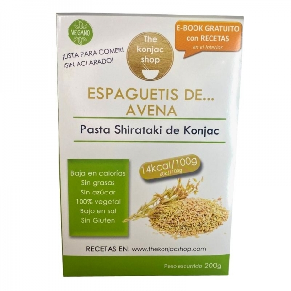 Espaguetis de Avena The Konjac Shop