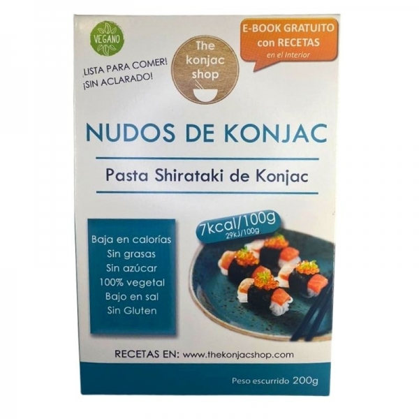 Nudos Shirataki The Konjac Shop