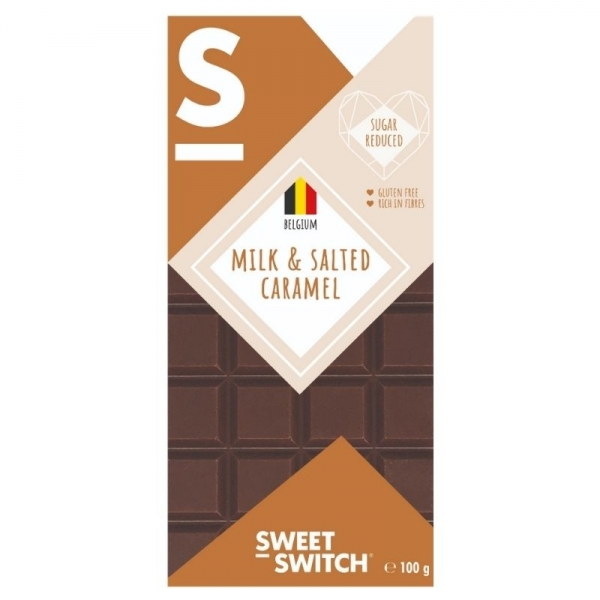 Chocolate con leche belga y caramelo salado - Sweet Switch