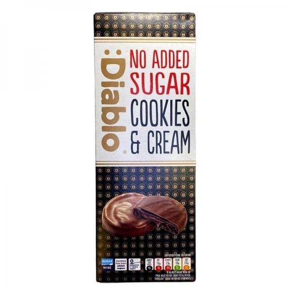 Cookies de Chocolate Negro con Crema :Diablo