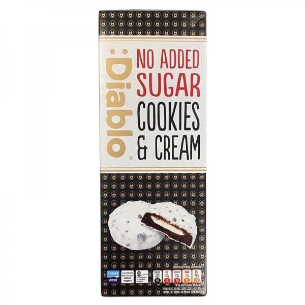 Cookies de Chocolate Blanco con Crema :Diablo
