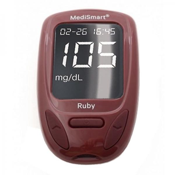 Glucómetro MediSmart Ruby