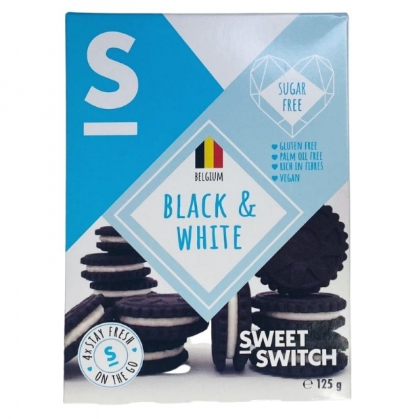 Sweet Switch - Biscoitos Preto e Branco