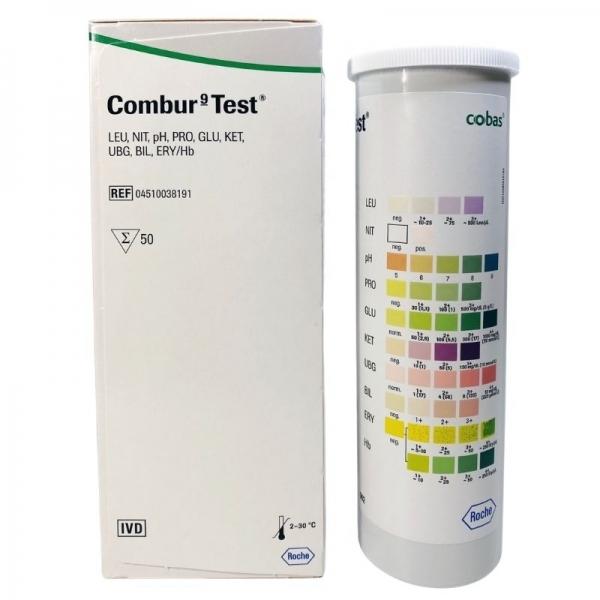 Combur 9 Test (50 Unidades)
