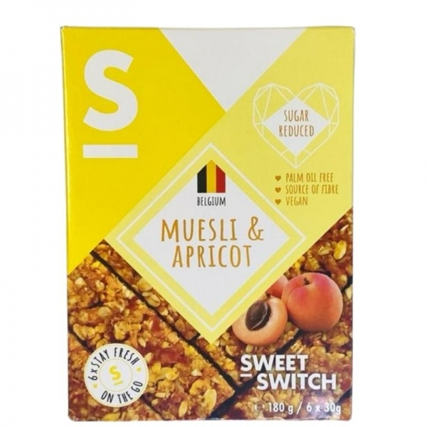 Muesli y Albaricoque - Sweet Switch