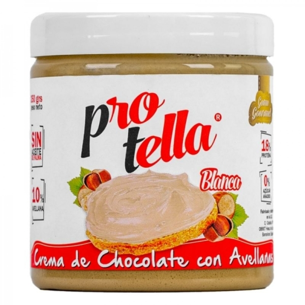 Crema de Chocolate Blanco con Avellana - Protella