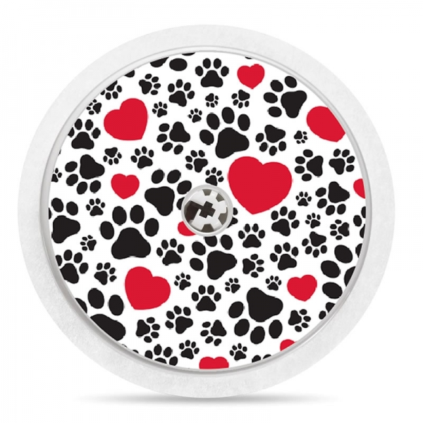 Pegatina Sticker para Freestyle Libre® - Love Pets [11]