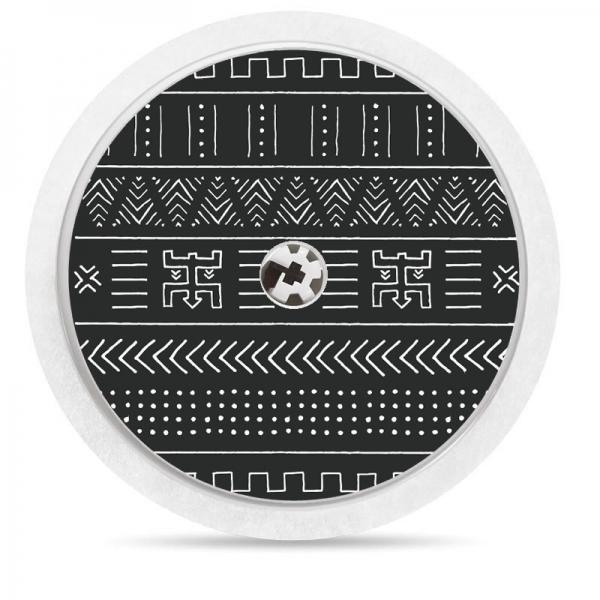 Pegatina Sticker para Freestyle Libre® - Tribal Negro [25]