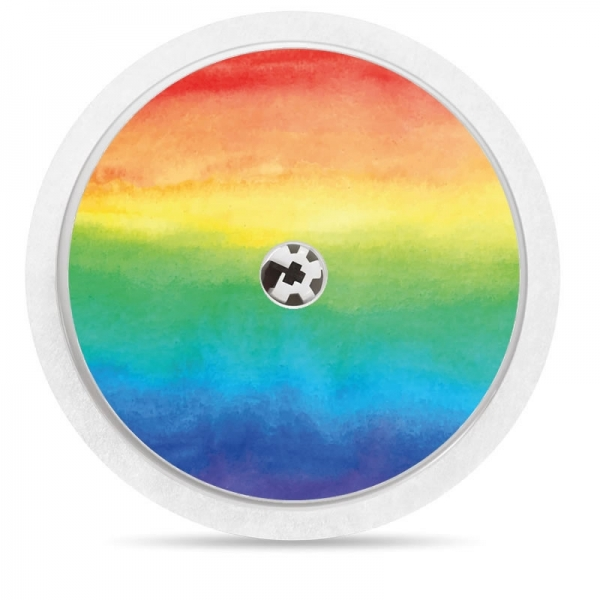 Pegatina Sticker para Freestyle Libre® - Arcoiris [30]