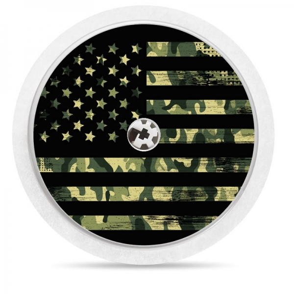 Pegatina Sticker para Freestyle Libre® - American Army [32]