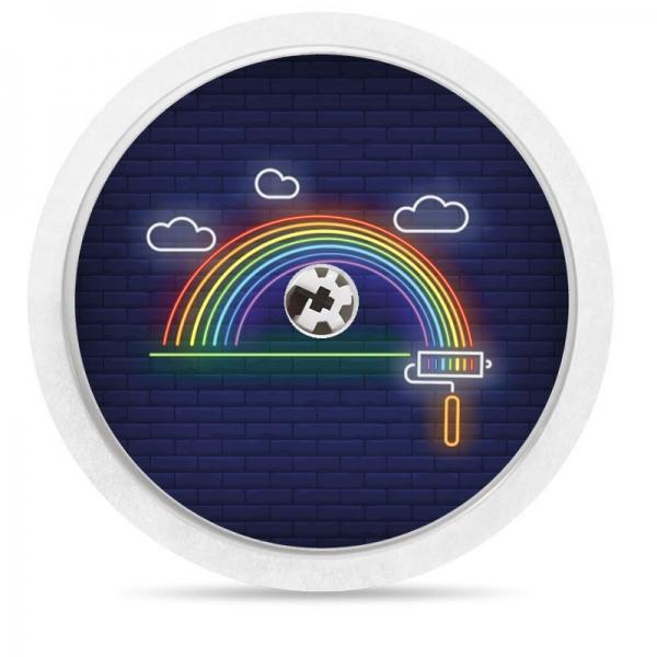 Adesivo para Freestyle Freestyle® - arco-íris neon [34]