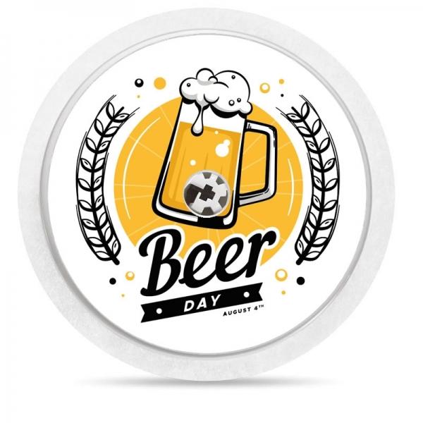 Pegatina Sticker para Freestyle Libre® - Cerveza [48]
