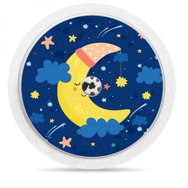 Pegatina Sticker para Freestyle Libre® - Luna noche [69]