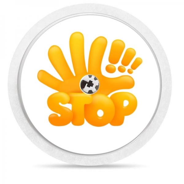 Adesivo para Freestyle Libre® - Mano Stop [98]