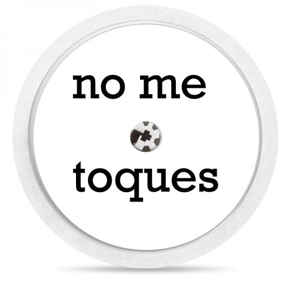 Pegatina Sticker para Freestyle Libre® - No toques [95]