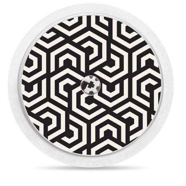 Pegatina Sticker para Freestyle Libre® - Mosaico geométrico [76]