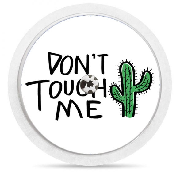 Pegatina Sticker para Freestyle Libre® - 	Cactus dont touch [84]