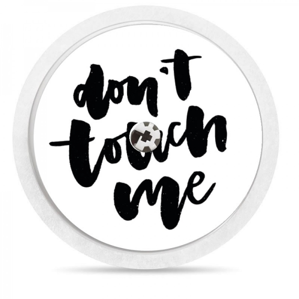Pegatina Sticker para Freestyle Libre® - Dont touch me [88]