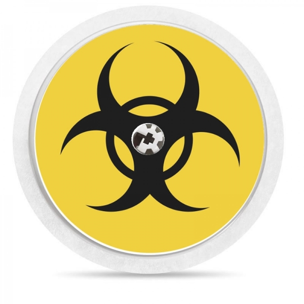 Pegatina Sticker para Freestyle Libre® - Biohazard [89]