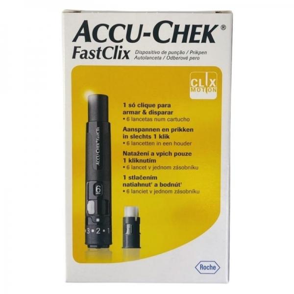 Accu-Chek Fastclix - Picada Indolor