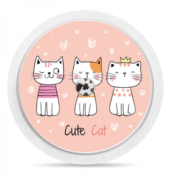Pegatina Sticker para Freestyle Libre® - Cute Cat [08]
