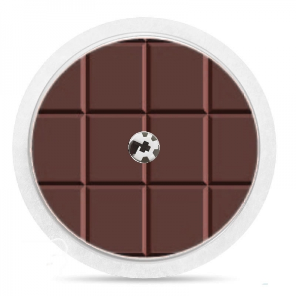 Pegatina Sticker para Freestyle Libre® - Chocolate [01]