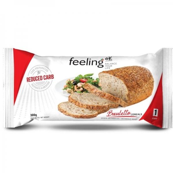 Pan Proteico con Cereales Feeling OK