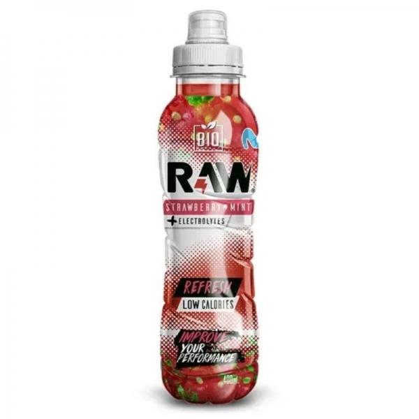 Raw Bio Fresa & menta - 400ml