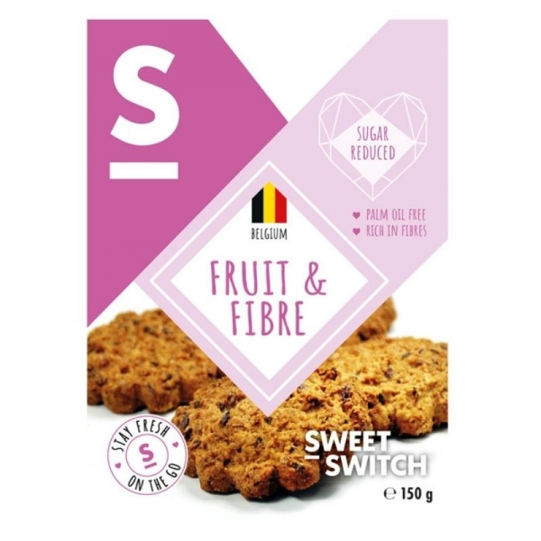 Galletas de Fruta y Fibra - Sweet Switch