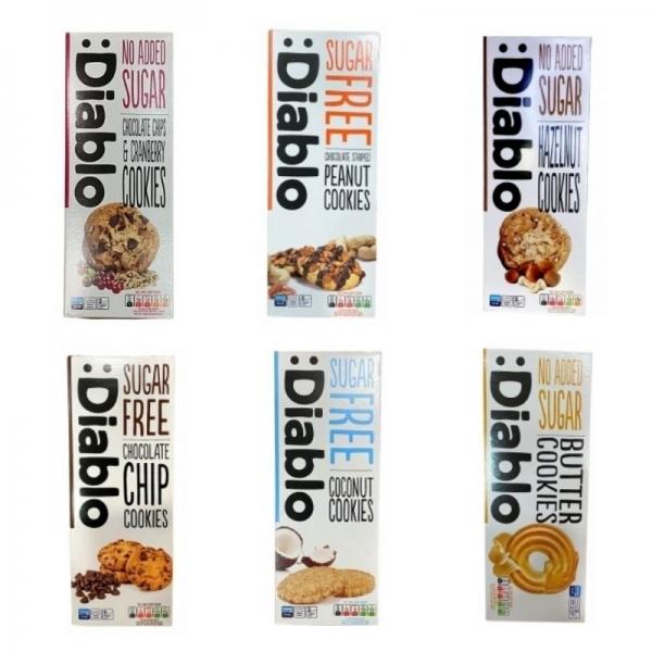 Biscuits :diablo (Pack 6 flavors)