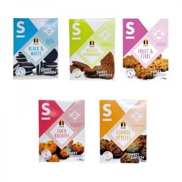 Switch Sweet Cookies (Pack 5 sabores)
