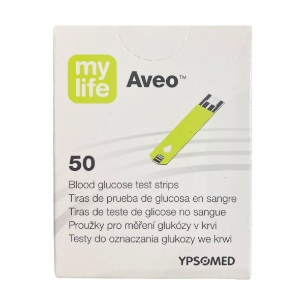 Aveo MyLife - Tiras reactivas (50 tiras)