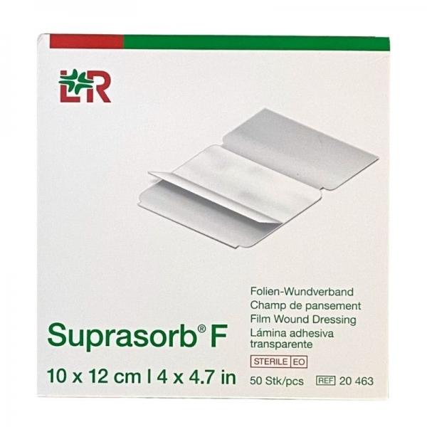 Suprasorb F Parches Transparentes (10 x 12 cm) 50 unidades