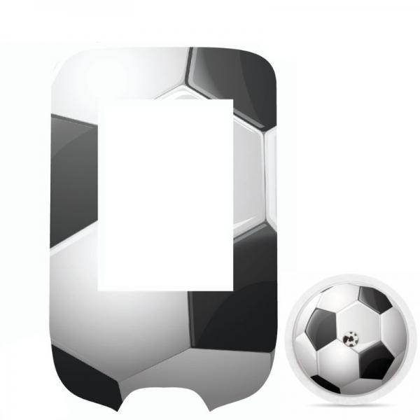 Adesivo para Glucometer Freestyle Libre® - Bola de futebol [301]