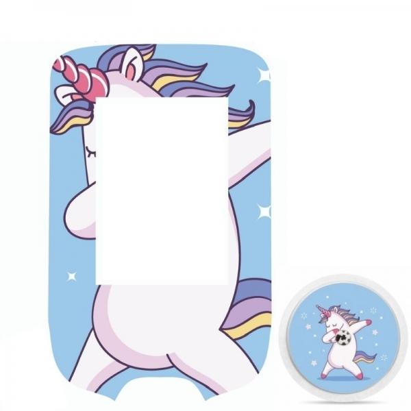 Pegatina Sticker para Glucómetro Freestyle Libre® - Unicornio [302]