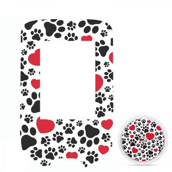 Adesivo para Glucometer Freestyle Libre® -  Love Pets [305]