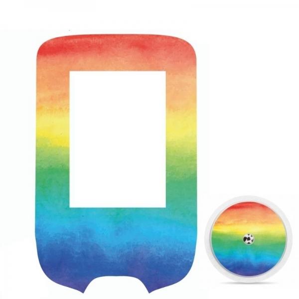 Pegatina Sticker para Glucómetro Freestyle Libre® - Arcoíris [308]