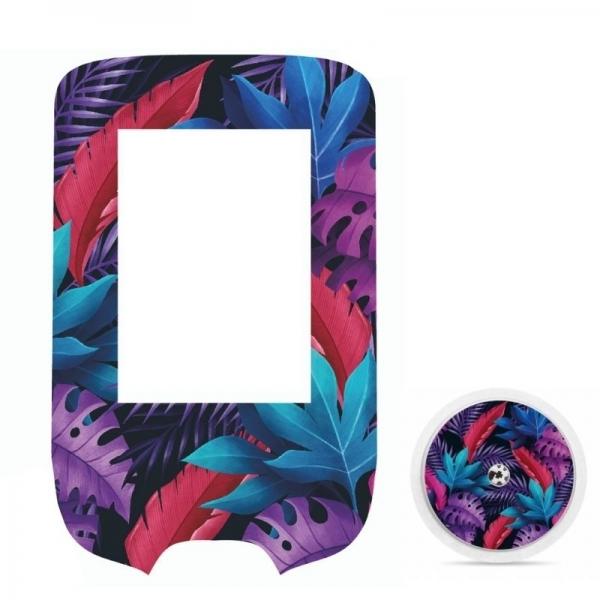 Adesivo para Glucometer Freestyle Libre® - flores coloridas [312]