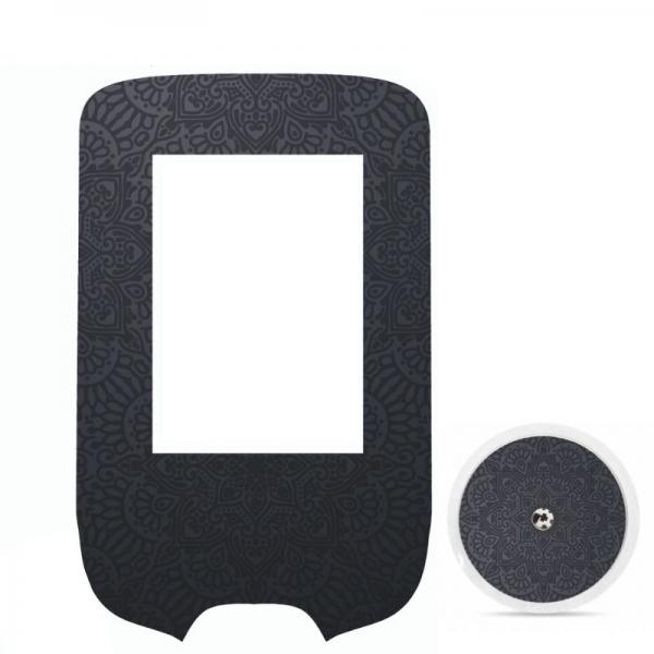 Adesivo de Glucometer Livre Freestyle® -  Luxury mandala [322]