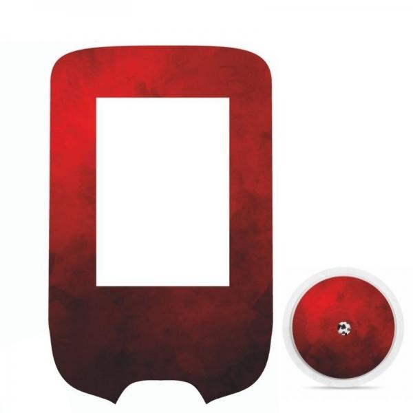 Pegatina Sticker para Glucómetro Freestyle Libre® - Rojo Real [323]