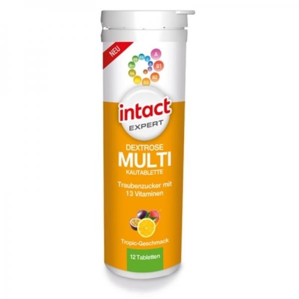 Intact Expert - Pastillas Glucosa Multifrutas
