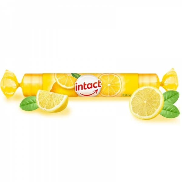 Intact - Pastillas Glucosa Limón