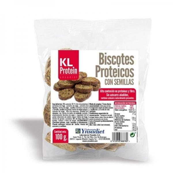 Biscotes Proteicos con Semillas -  KL Protein