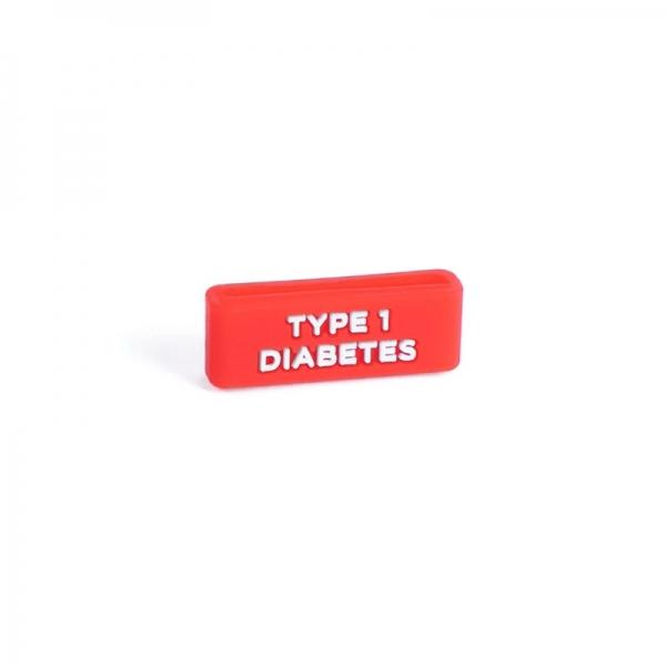 Identificador Type 1 Diabetes para reloj Rojo