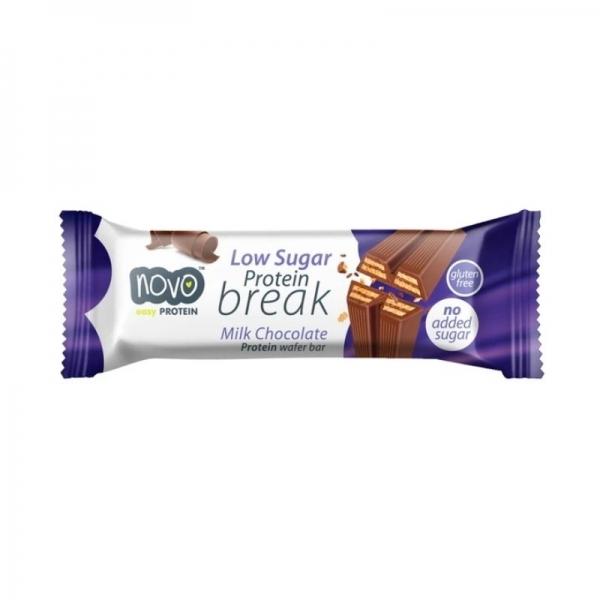 Barquillo proteico de Chocolate con leche - Novo Nutrition