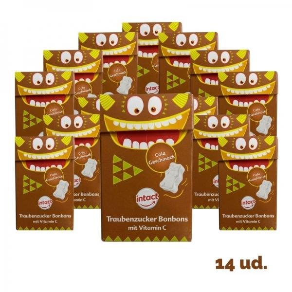 Intact - Pack CaJitas Ositos Cola (14 unidades)