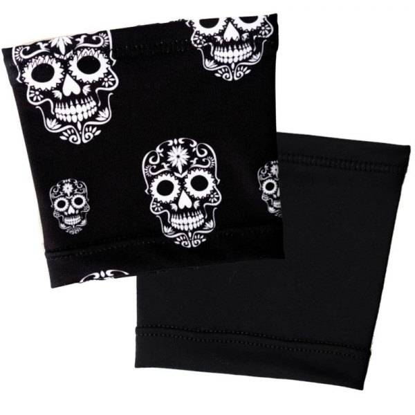 pulseira Ikooki (Pack Saving) Skulls + Black