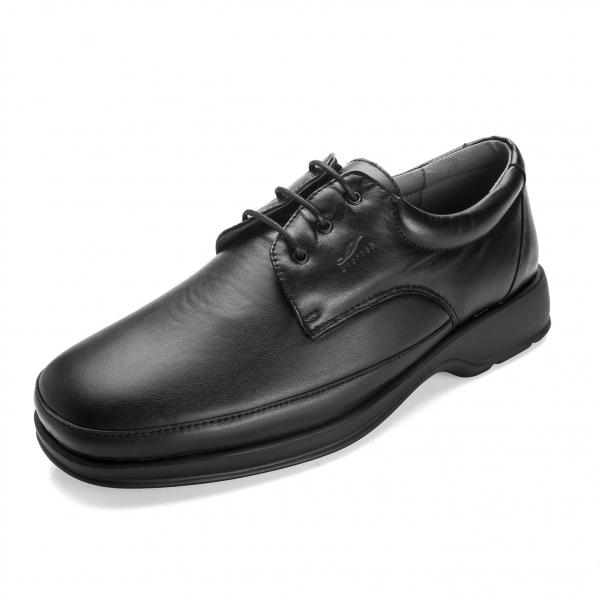 Sapato preto Diabcare