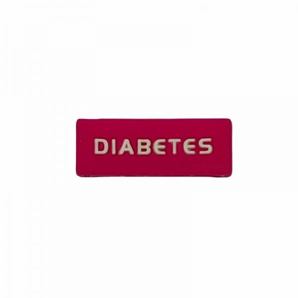 Identificador Diabetes para reloj Fucsia