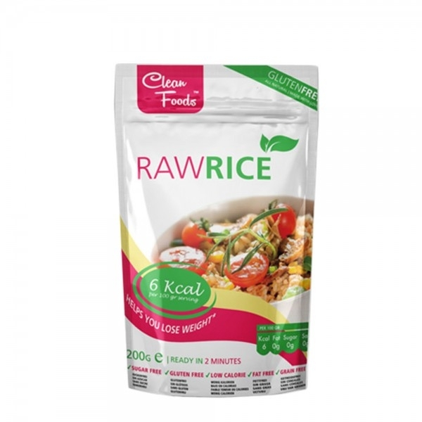 Raw Pasta - Arroz Konjac